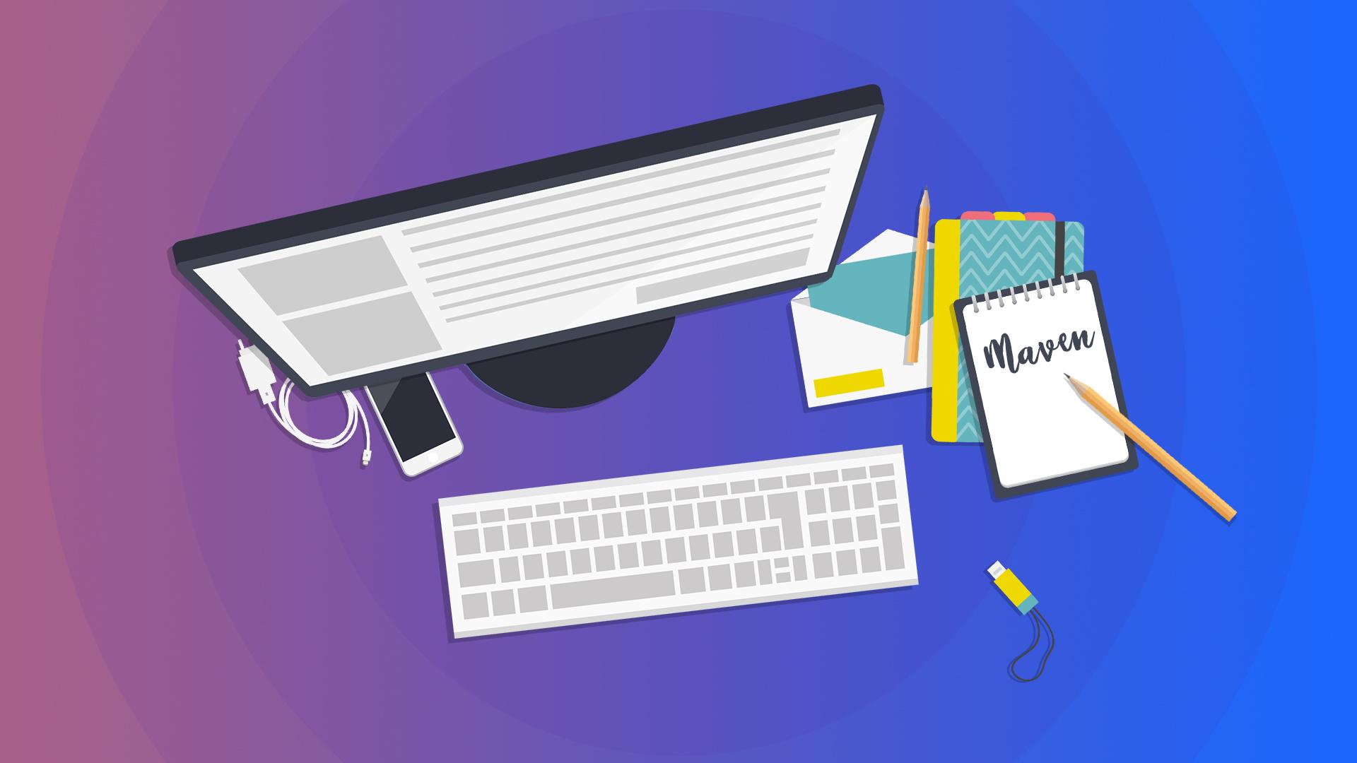 Вебинар Создание и сборка проекта с Maven. Примеры работы с зависимостями и свойствами фото