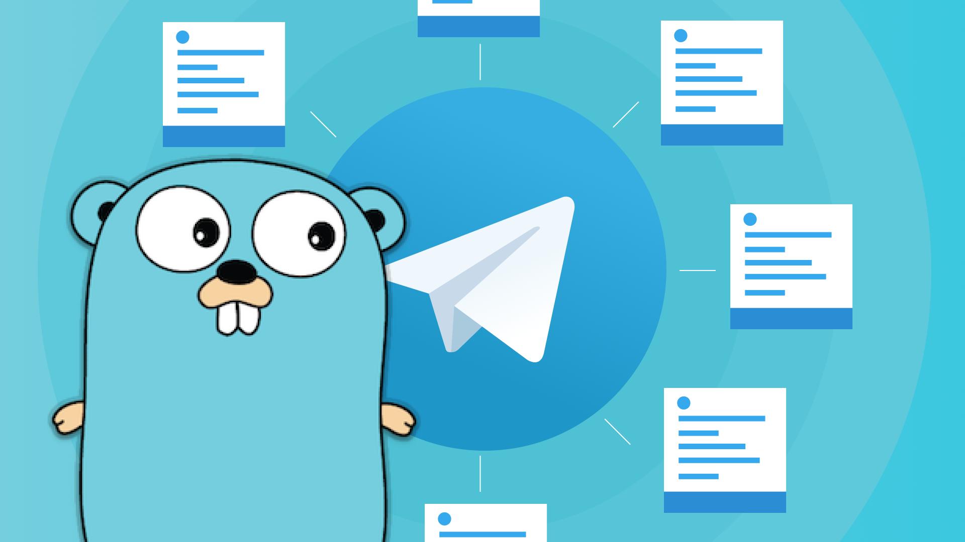 Вебинар Реализация Telegram-бота с помощью Golang фото
