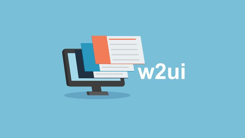 Создание пользовательских интерфейсов веб-приложений с помощью библиотеки w2ui