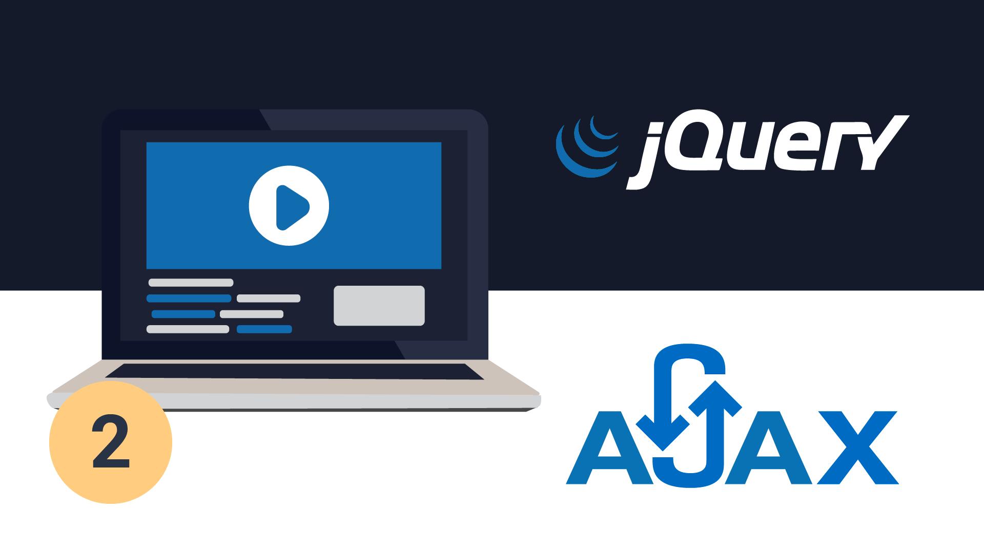 Вебинар Разработка интерактивных веб-приложений с использованием JQUERY+AJAX. Часть II фото