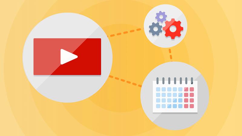 Автоматизация сервисов Google: Youtube и личное расписание