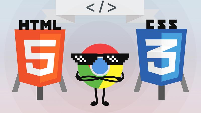 Разработка HTML/CSS в Google Chrome - только хардкор!