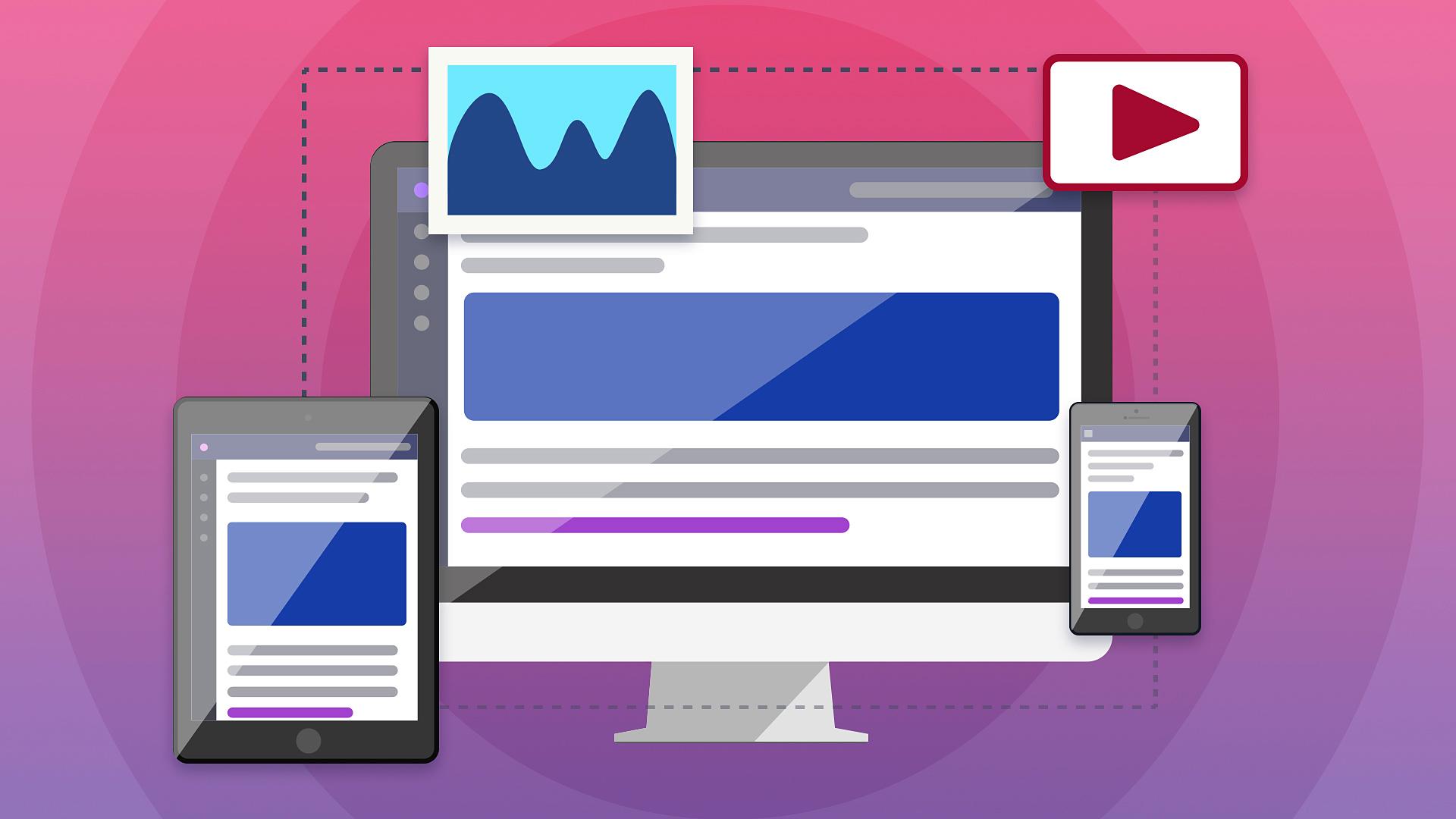 Вебинар Адаптивный сайт: изображения, видео и внешние источники фото