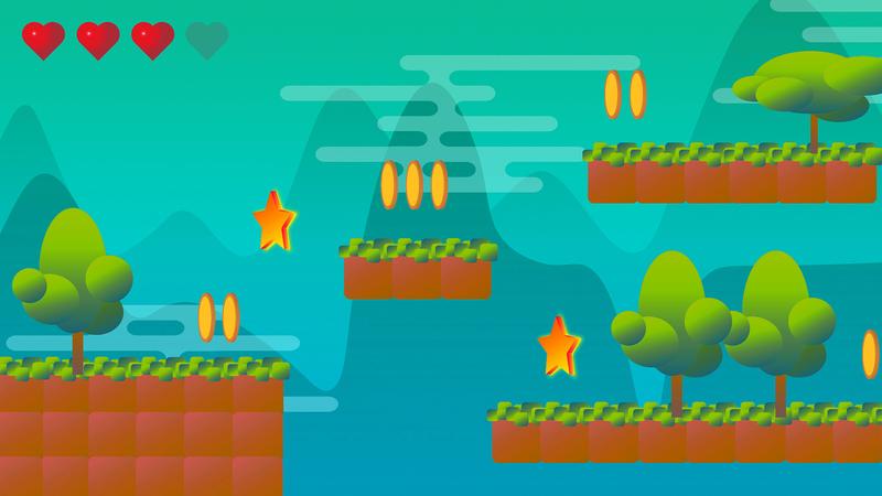 Простая 2D игра-платформер на Unity