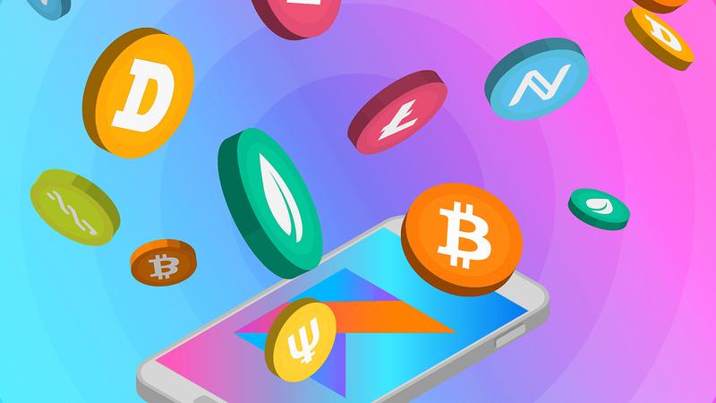 Курсы криптовалют на Kotlin для Android
