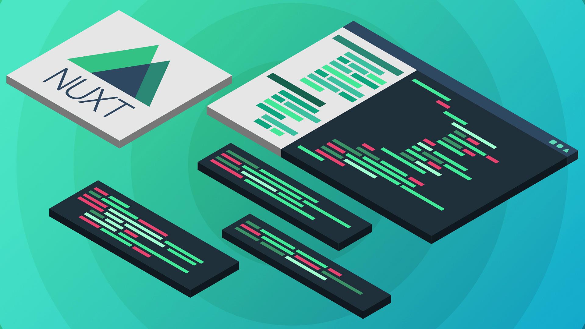 Вебинар Разработка веб-приложений на Nuxt.js фото