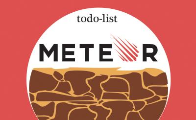 Вебинар Движение Meteor'а, создаем todo-list фото