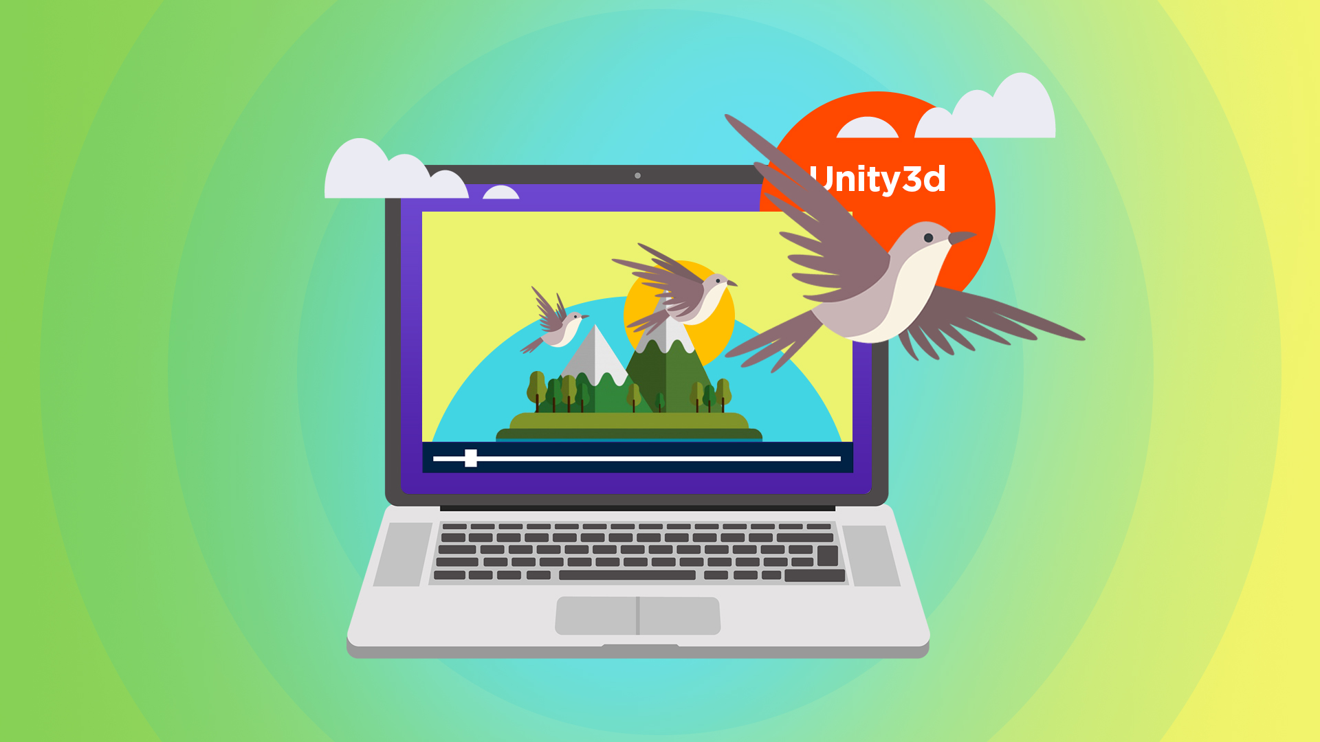 Вебинар Анимация в Unity3d (state Machine Mecanim) фото