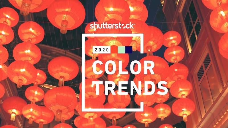Цветовые тренды 2020 года: мнение Shutterstock